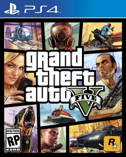GTA 5 PS4 Oyun. ürün görseli