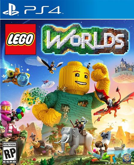 Lego Worlds Türkçe Alt Yazı PS4 Oyun. ürün görseli