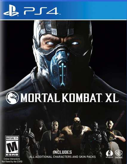 Mortal Kombat XL PS4 Oyun. ürün görseli