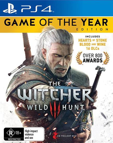 Witcher Wild Hunt Game of The Year Türkçe Alt Yazı PS4 Oyun. ürün görseli