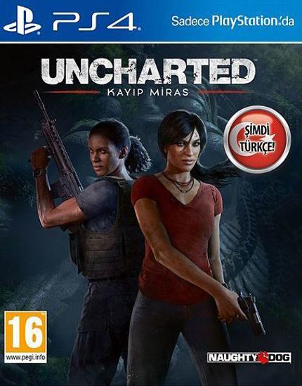 Uncharted Kayıp Miras Türkçe Alt Yazı ve Dublaj PS4 Oyun. ürün görseli