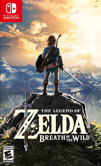 The Zelda Breath of the Wild Nintendo Switch Oyun. ürün görseli