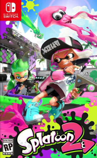 Splatoon 2 Nintendo Switch Oyun. ürün görseli