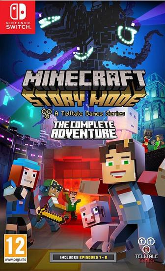 Minecraft Story Mode Nintendo Switch Oyun. ürün görseli