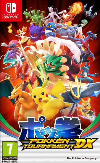 Pokken Tournament DX NS Oyun. ürün görseli