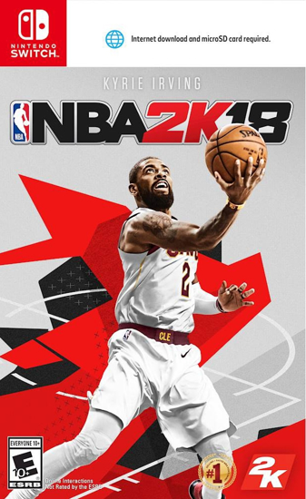 NBA 2K18 Switch. ürün görseli