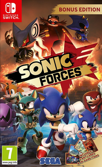 Sonic  Forces. ürün görseli