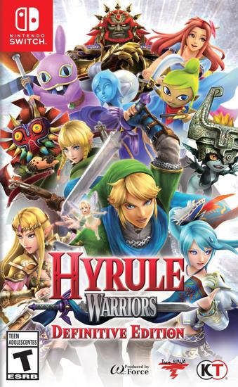 Hyrule Warriors NS Oyun. ürün görseli