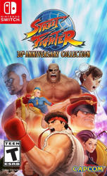 Street Fighter 30th Anniversary Collection NS Oyun. ürün görseli