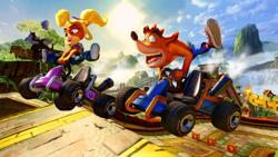 Crash Bandicoot Team Racing Nitro Fueled PS4 Oyun. ürün görseli