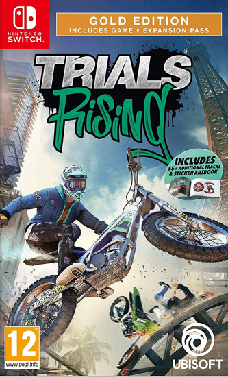 Trials Rising Gold Edition Switch. ürün görseli
