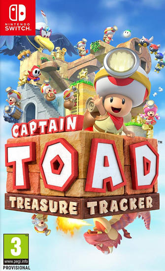 Captain Toad Treasure Tracker NS Oyun. ürün görseli