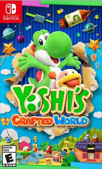 Yoshi's Crafted World Nintendo Switch Oyun. ürün görseli