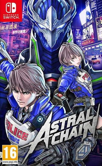 Astral Chain NS Oyun. ürün görseli