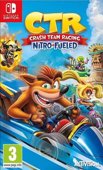 Crash Bandicoot Team Racing Nitro Fueled NS Oyun. ürün görseli