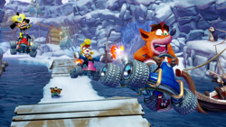Crash Bandicoot Team Racing Nitro Fueled Switch. ürün görseli