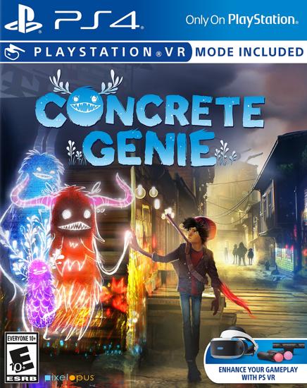 Concrete Genie Türkçe Alt Yazı. ürün görseli