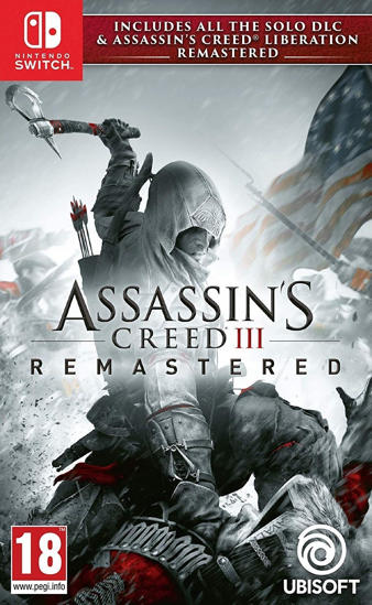 Assassin's Creed III Remastered NS Oyun. ürün görseli
