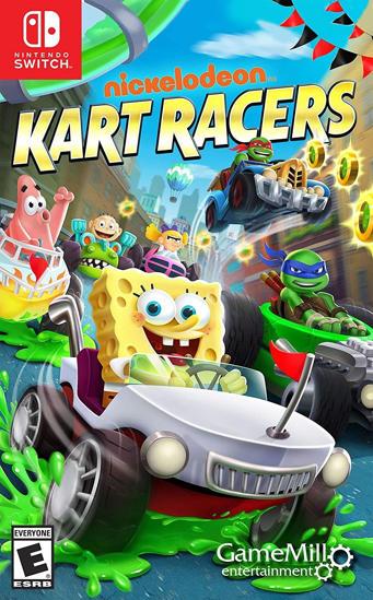 Nickelodeon Kart Racers NS Oyun. ürün görseli