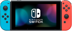 Nintendo Switch Red Neon Blue Yeni Model + Super Mario Odyssey. ürün görseli