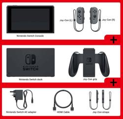 Nintendo Switch Gri Yeni Model. ürün görseli