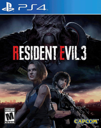 Resident Evil 3 Remake PS4 Oyun. ürün görseli