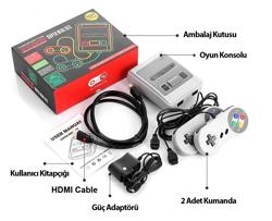 Super Hd Mini Hdmi 621 Oyunlu Retro Konsol. ürün görseli
