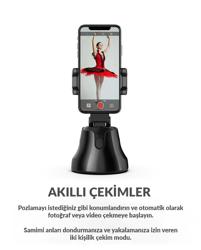 Akıllı Selfie  360 Derece Video Takip Sistemi Fotoğraf ve Video Çekimi - Apai Genie. ürün görseli