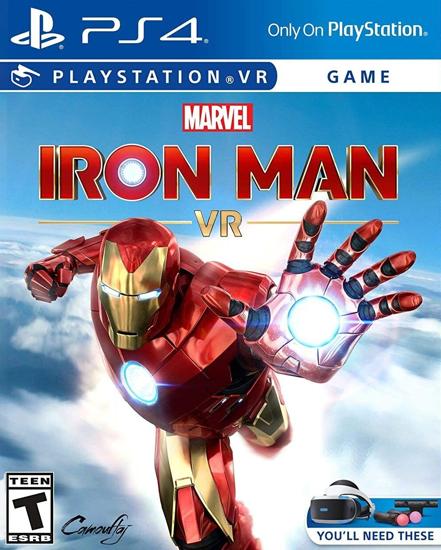 Marvel's Iron Man VR PS4 Oyun. ürün görseli