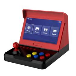 Retro Arcade Kırmızı Siyah