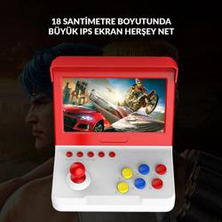 Retro Arcade Konsol Hdmi Bağlantı Yeni Model. ürün görseli