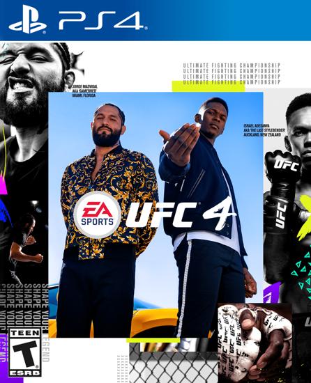 UFC 4 PS4. ürün görseli