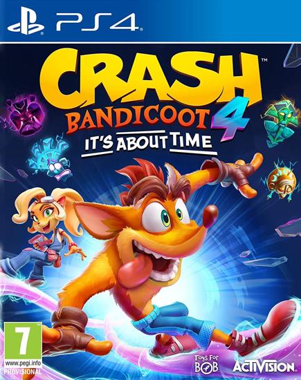 Crash Bandicoot 4 It's About Time PS4. ürün görseli