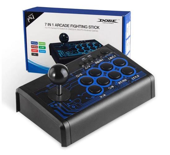 Dobe PS4 Arcade 7'si 1 Arada Kablolu Dövüş Çubuğu. ürün görseli