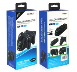 Dobe PS4 Dualshock 4 Göstergeli Şarj Stand Kiti. ürün görseli