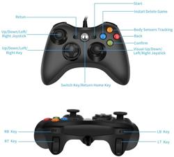 Xbox 360 ve Pc Kablolu Oyun Kolu. ürün görseli