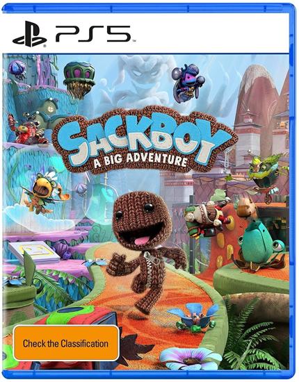 Sackboy A Big Adventure PS5 Oyun. ürün görseli