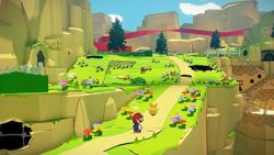 Paper Mario The Origami King Nintendo Switch. ürün görseli