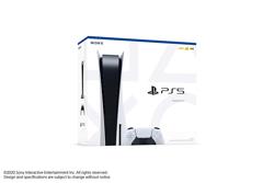 Playstation 5 Digital Versiyon Oyun Konsolu. ürün görseli
