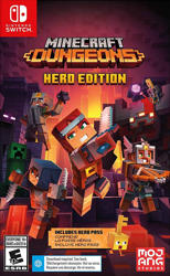 Minecraft Dungeons Hero Edition Nintendo Switch Oyun. ürün görseli