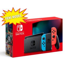 Nintendo Switch Red Neon Blue Yeni Model. ürün görseli