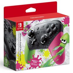 Nintendo Switch Pro Controller Splatoon 2 Edition. ürün görseli