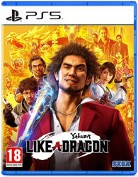Yakuza Like a Dragon PS5 Oyun. ürün görseli