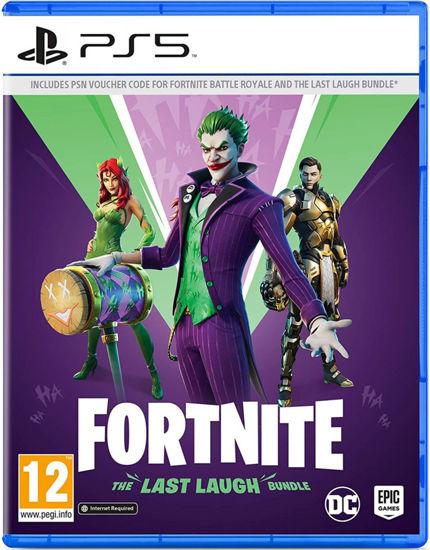 Fortnite The Last Laugh Bundle PS5 Oyun. ürün görseli