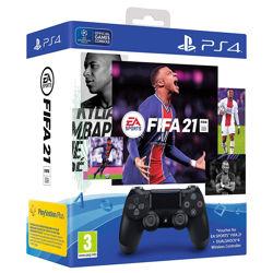 FIFA 21 + Dualshock 4 Paketi PS4. ürün görseli