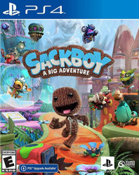 Sackboy A Big Adventure Türkçe Dublaj ve Altyazı PS4 Oyun. ürün görseli