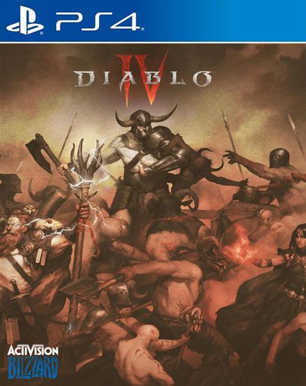 Diablo IV PS4 Oyun. ürün görseli