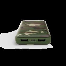 ReCharger Yeşil Kamuflaj 20.000mAh Taşınabilir Şarj Aleti. ürün görseli