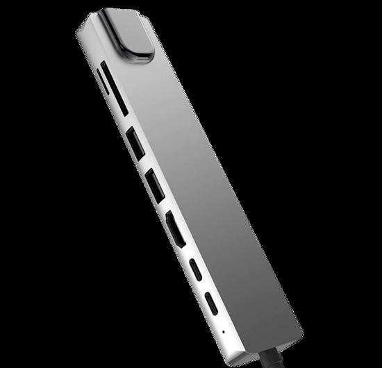 HONCAM 8 in 1 HDMI Ethernet SD USB Type C USB 3.0 Çevirici Adaptör. ürün görseli