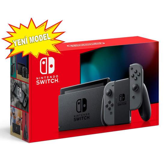 Nintendo Switch Gri Yeni Model (Mağazaya Özel Fiyat Sadece Nakit Ödemelerde Geçerlidir). ürün görseli